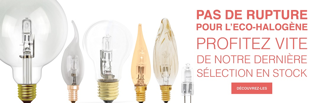 Ampoules eco-halogènes