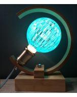 Ampoule Boule à facettes Bleu Globe LED 4W