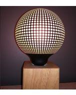 Ampoule Déco Globe Imprimé Pointillés