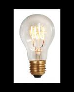 Ampoule Standard A60 filament LED 4 loops 4W E27 2200K 240Lm dim