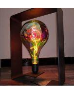 Luminaire BRUT D'ACIER 100% Made in France - OPEN-QUADRI 120