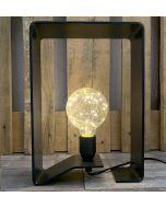 Luminaire BRUT D'ACIER 100% Made in France - OPEN-QUADRI 80
