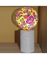 Ampoule Imprimé FLORAL Globe LED 4W