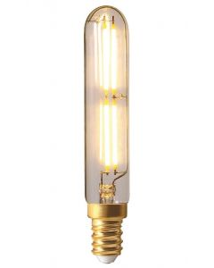 Tube Filament LED 120mm 4W E14 2700K (Lumière chaude) 400Lm