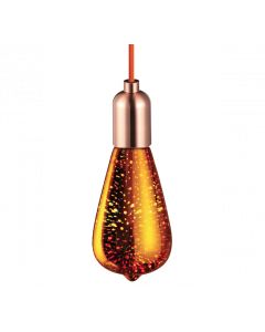 Ampoule LED Edison COSMOS 3D 4W E27 - Or