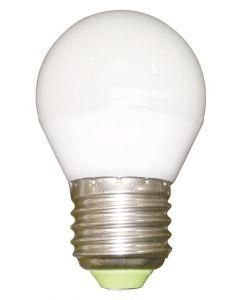 Ampoule Sphérique Ø45mm LED 330° 5W E27 Blanc chaud 400Lm