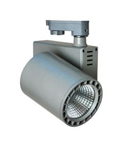 Projecteur LED sur rail - 35W - 4000k - Gris