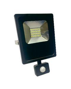 Projecteur LED avec détecteur de présence -20W Blanc Chaud