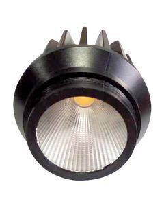 Jocaste - Spot LED encastré et dévissable Ø66x75 10W 4000K 900lm 36° noir