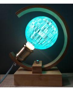 Ampoule Boule à facettes Bleue Globe LED 4W