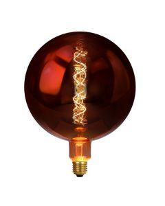 Ampoule GLOBE LED Déco Cuivrée E27 4W