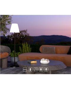 Lampadaire Musicale SOLAIRE Bluetooth RGB avec télécommande