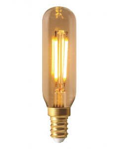 Tube Filament LED 95mm 2W E14 Blanc chaud 160Lm