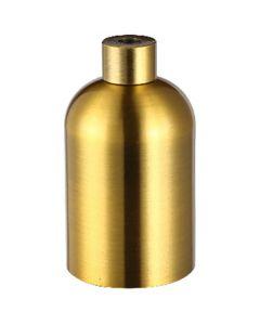 Douille aluminium lisse E27 - Bronze