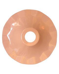 Abat-jour métallique rose