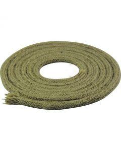 Câble textile rond 2 mètres Chanvre Naturel