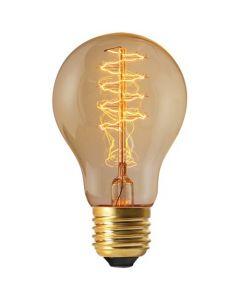 Ampoule filament métallique spiralé 24W E27 2200K 100Lm dimmable Claire