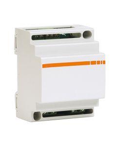 Variateur Module Din 220-240V Halo 25/600W Led 10/400W 40 Ampoules