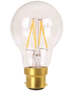 Ampoule standard filament LED 4W B22 2700k Satin