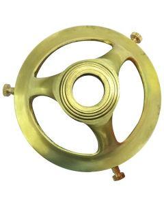 Griffe Laiton poli Diamètre du Trou 11mm