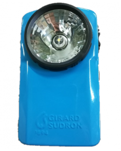 Lampe de poche Vintage LED Métal Bleue