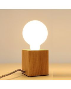 Ampoule Globe Ø95mm LED 7W E27 Blanc chaud / Milky