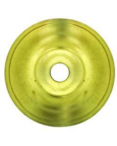 Dessus Galbé Trou 11mm Laiton D.070mm