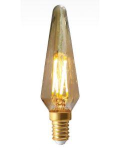 Flamme Bohème filament LED 4W E14 Blanc doux dimmable Ambrée