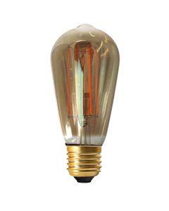 Ampoule Edison filament LED 4W E27 Blanc chaud Dimmable / Fumée