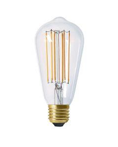 Ampoule Edison filament LED 6W E27 Blanc chaud Dimmable
