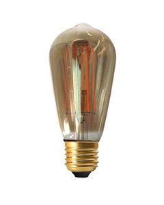 Ampoule Edison filament LED 6W E27 Blanc chaud Dimmable / Fumée