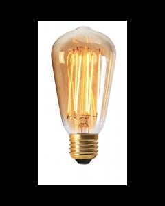 Ampoule Edison Filament LED 2W E27 Blanc chaud Ambrée