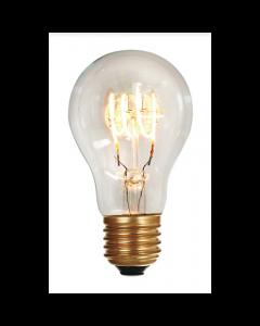 Ampoule Standard A60 filament LED 4 Loops 5W E27 Blanc Doux 280Lm