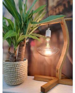 """Ampoule """"Champignon"""" filament LED spiral 4W E27 2000K Ambré"""