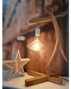 Ampoule  'ART DECO' Filament LED 6W E27 Blanc doux Dimmable Ambrée