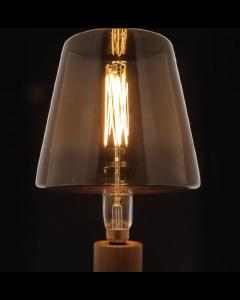 """Fabrice PELTIER - Ampoule géante """"SHADE""""  filament LED 4W E27 Dimmable Ambrée"""
