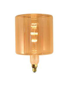"""Fabrice Peltier - Ampoule géante """"LOP"""" filament LED 4W E27 Dimmable Ambrée"""