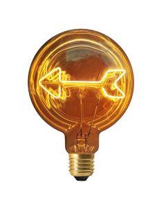Ampoule Filament FLECHE LED E27 (ampoule plate)