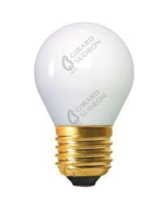 Ampoule Sphérique Filament LED 4W E27 Blanc froid - Opaline