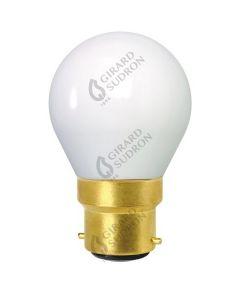 Ampoule Sphérique Filament LED E27 4W Blanc froid - opaline