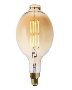 """Ampoule Géante """"Zole"""" LED filament 8W E27 640Lm dimmable Ambrée"""