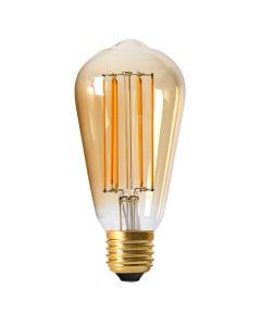 Ampoule Edison Filament LED 4W E27 Blanc chaud Dimmable Ambrée