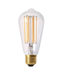 Ampoule Edison Filament LED 4W E27 Blanc chaud 300Lm Dimmable