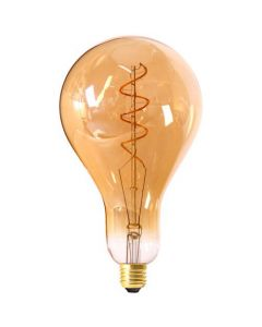 Ampoule Géante Filament LED TWISTED 4W E27 Blanc doux Dimmable Ambrée