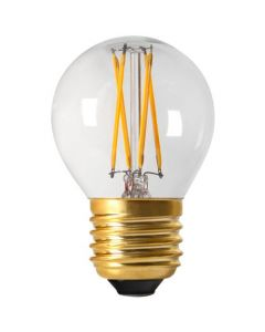 Sphérique G45 Filament LED 4W E27 Blanc froid 380Lm Dimmable