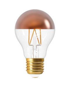 """Ampoule Standard  LED """"Calotte Bronze"""" 6W E27 Blanc chaud 750Lm Dimmable"""