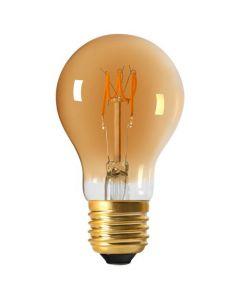 Ampoule Standard A60 Filament LED LOOPS 3W E27 2000K 150Lm Ambrée