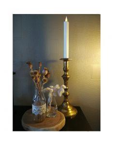 Bougie Flamme LED vacillante - Cire Véritable - 25cm