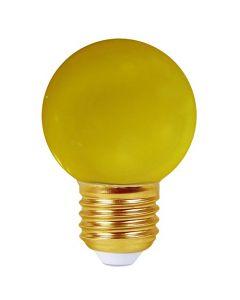 Sphérique LED 1W E27 30Lm Jaune