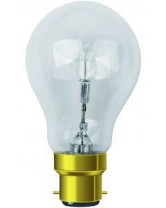 Standard Ampoule éco-halo B22 57W blanc chaud 920lm Dimmable